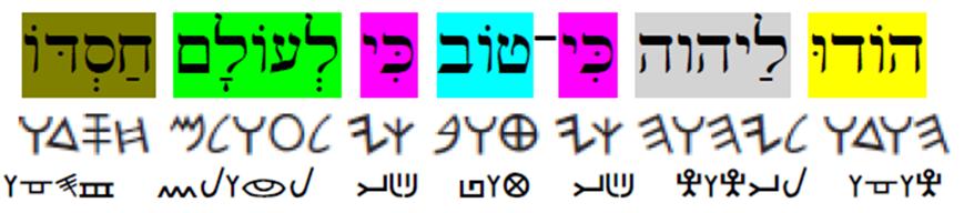 Tehillah 136verse1